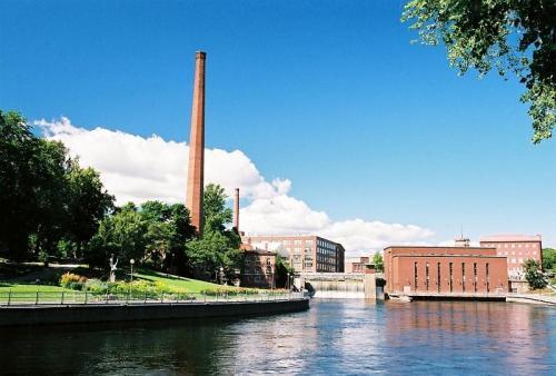 Fínsko - Tampere 2008