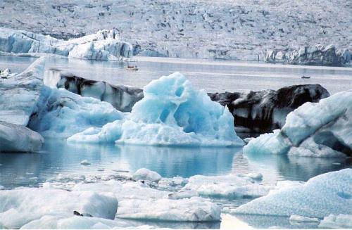 Ľadovcové jazero Vatnajökull